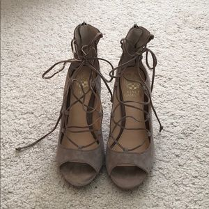Lace Vince Camuto Heels